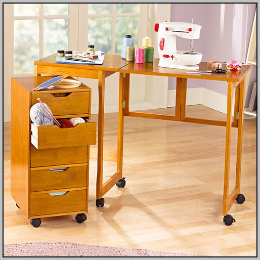 Fold Away Desk With Drawers