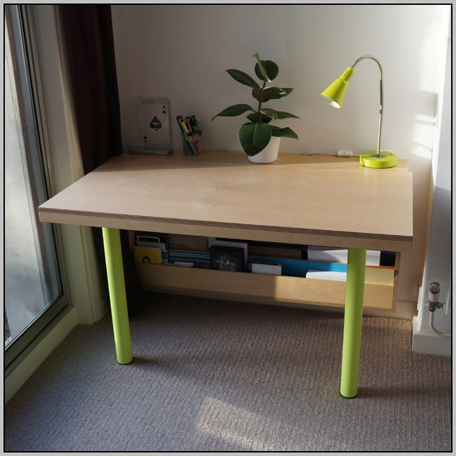 Fold Down Desk From Wall