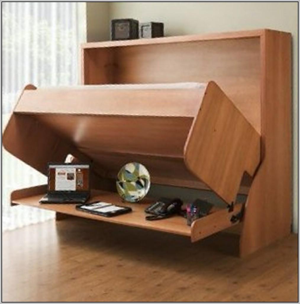 Folding Wall Desk Bed