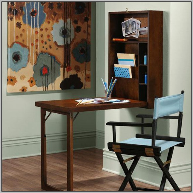 Folding Wall Desk Diy