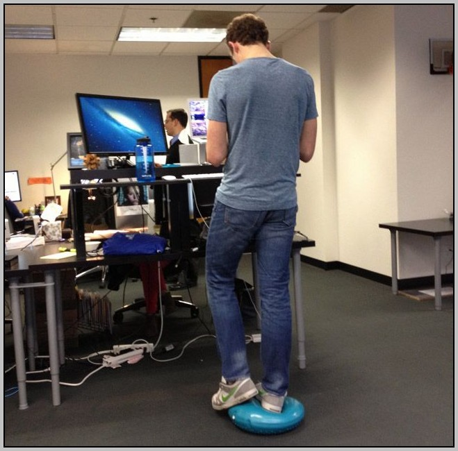 Foot Stool For Standing Desk