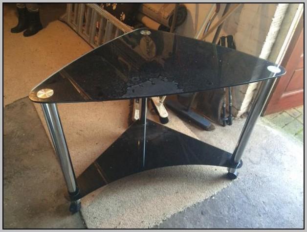 Glass Corner Desk Amazon