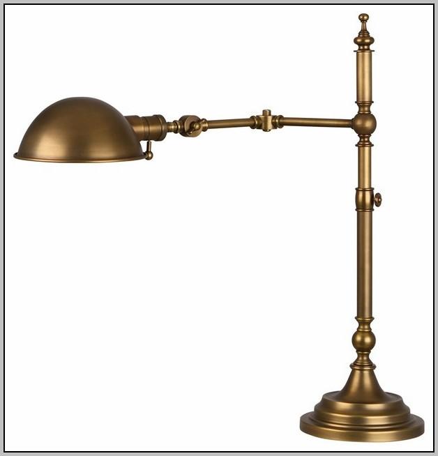 Gold Pharmacy Desk Lamp