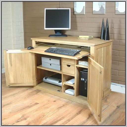 Hidden Computer Desk Cabinets