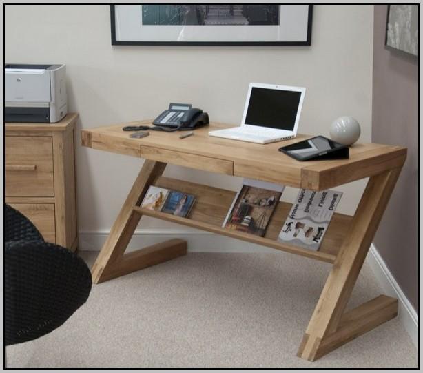 Hidden Computer Desk Oak
