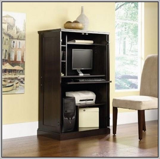 Hide Away Desk Armoire