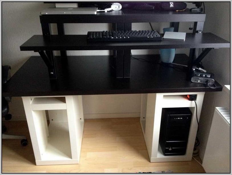 Ikea Small Desk Hack