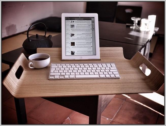 Ipad Lap Desk With Keyboard
