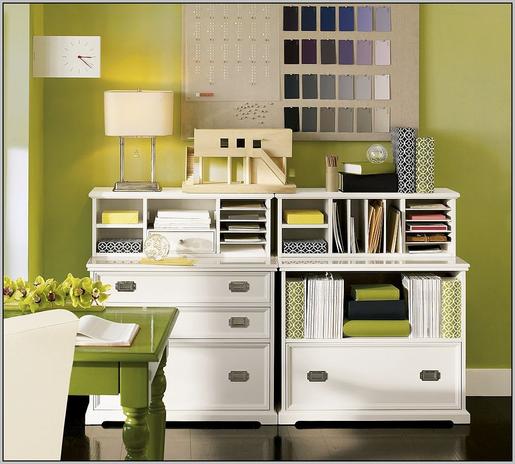 Kitchen Desk Organization Ideas