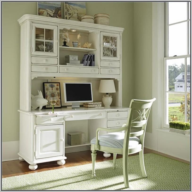 L Computer Desk With Hutch