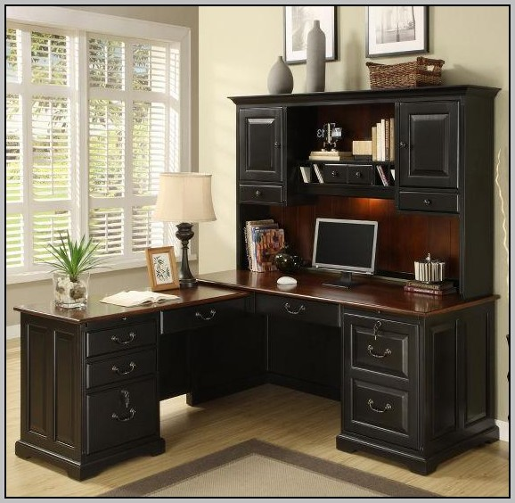 L Shaped Computer Desk With Hutch Canada