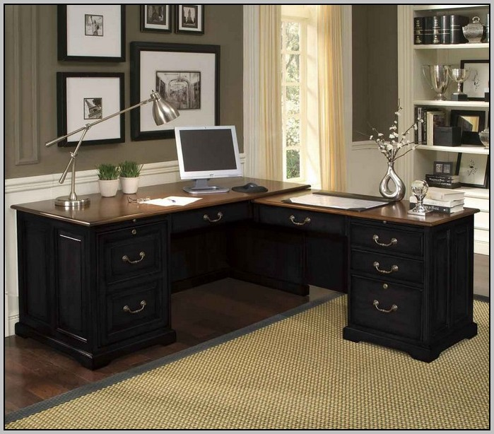 L Shaped Corner Desk Home Office