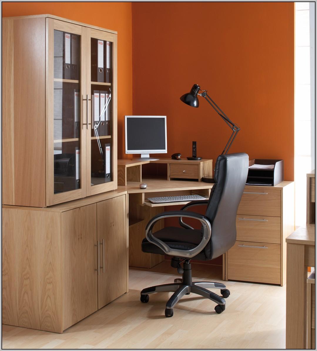 L Shaped Corner Desk White