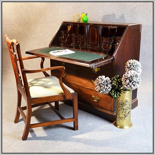Large Antique Writing Desk