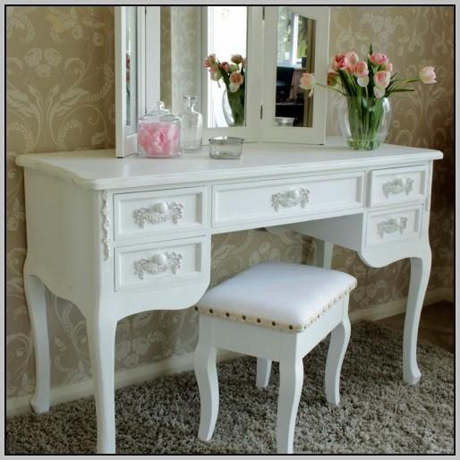 Large White Writing Desk