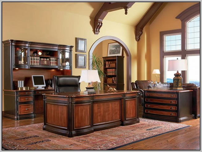 Large Writing Desk With Drawer