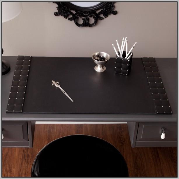 Leather Desk Blotter Pad