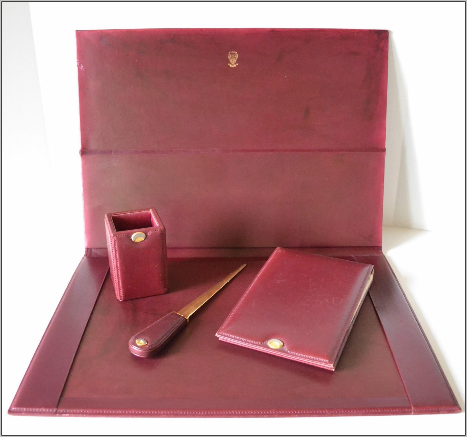 Leather Desk Blotter Uk