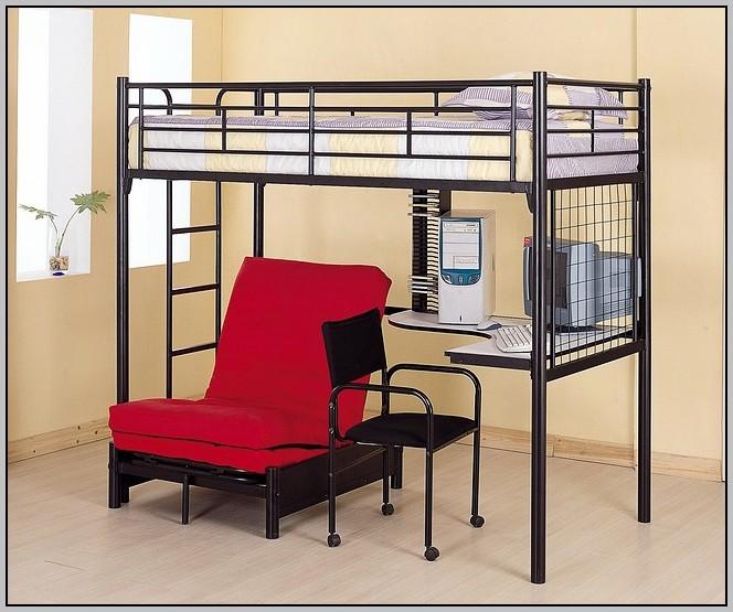 Loft Bed Desk Full
