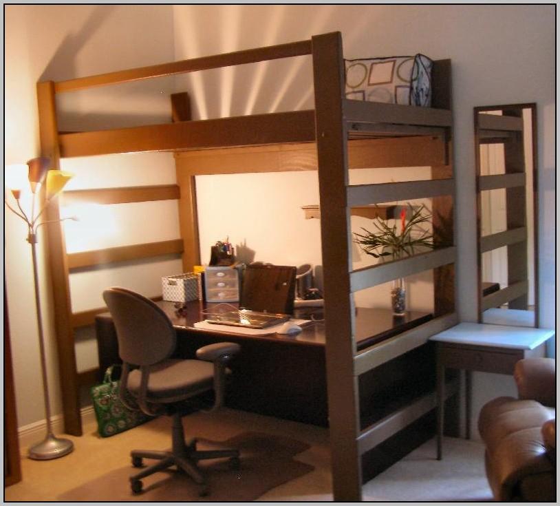Loft Bed Desk Futon