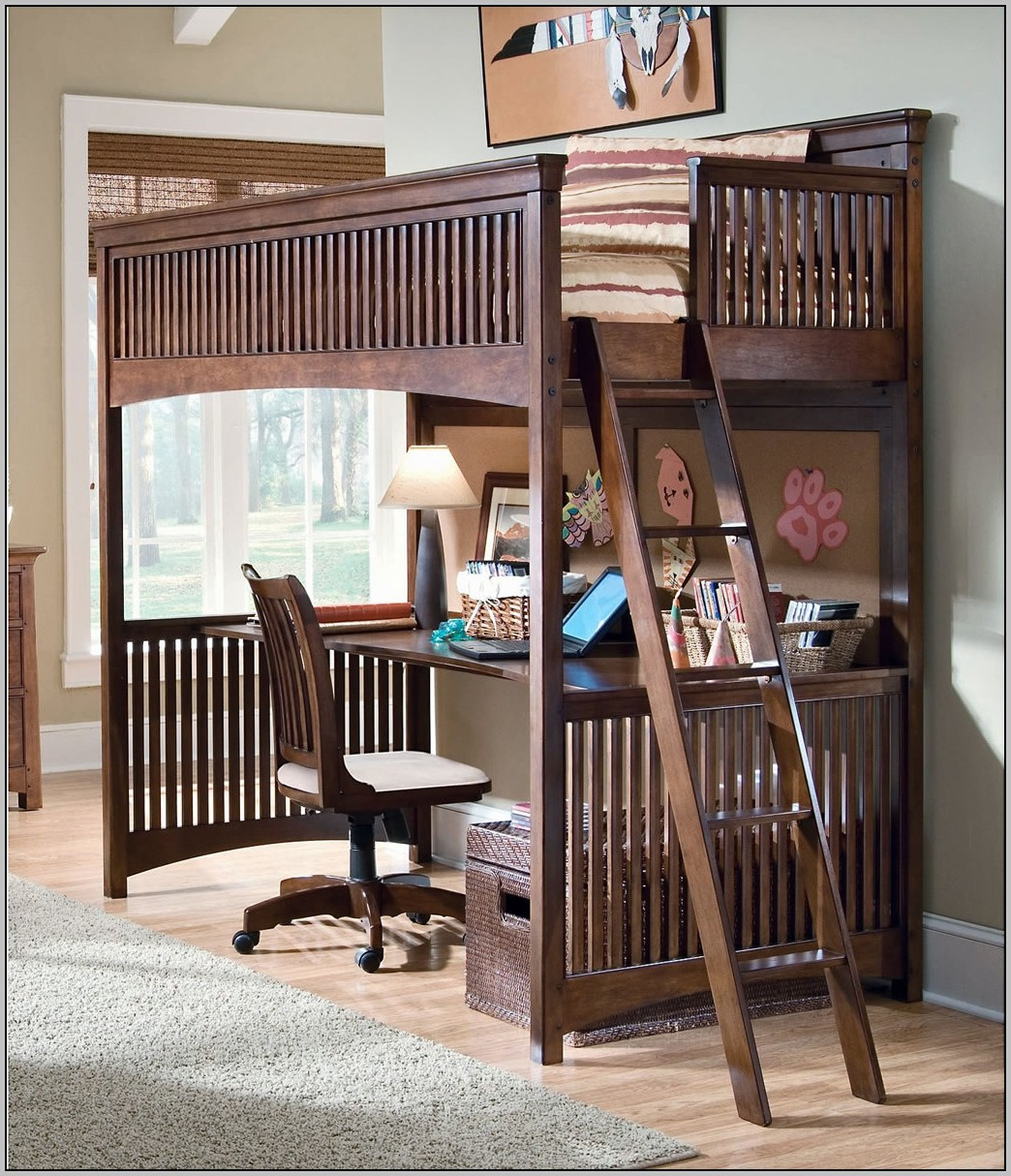Loft Beds With Desk And Storage Canada