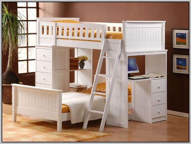 Loft Bunk Bed With Desk Canada