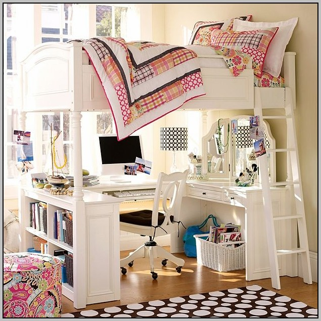 Loft Bunk Beds With Desk Uk