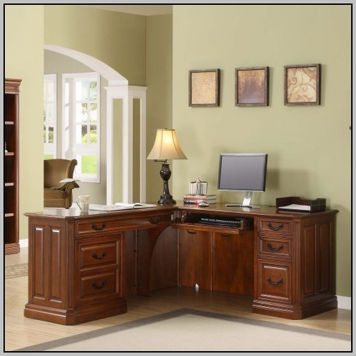 Mainstays L Shaped Desk And Hutch With Optional Office Chair