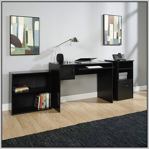Mainstays L Shaped Desk With Hutch Multiple Finishes Dimensions