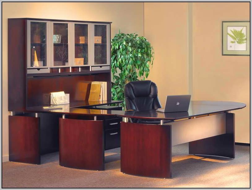 Merritt U Shaped Desk With Hutch