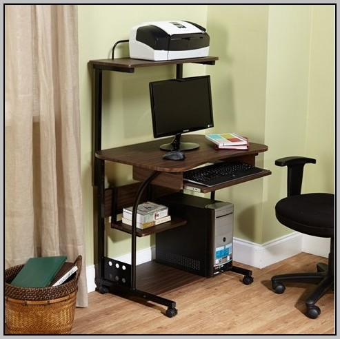 Mobile Laptop Desk With Storage