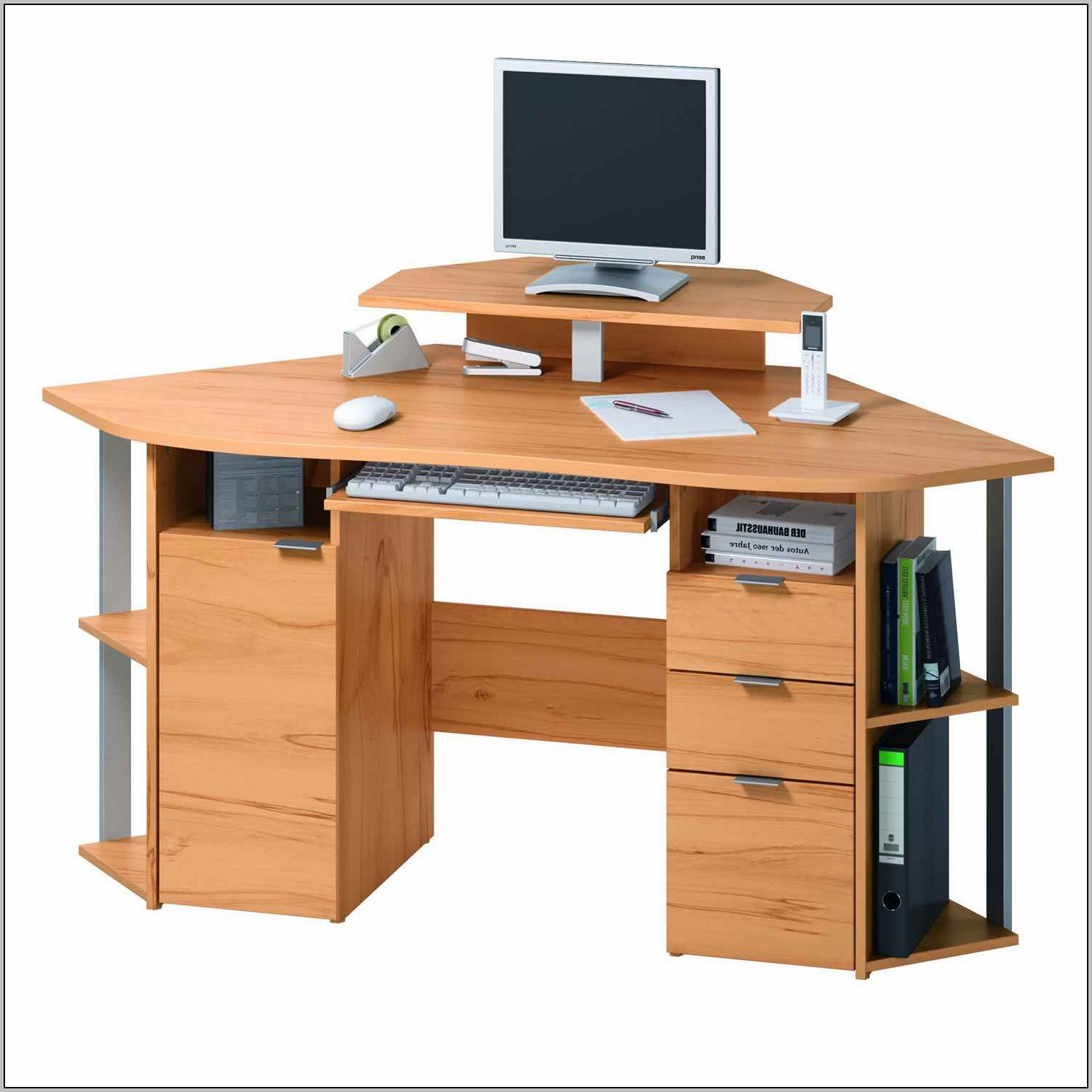 Modern Computer Desks For Small Spaces