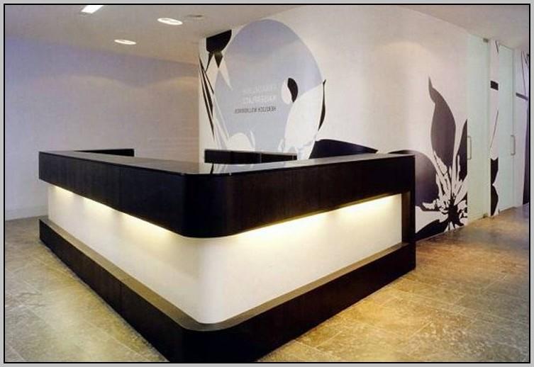 Modern Reception Desk Ideas