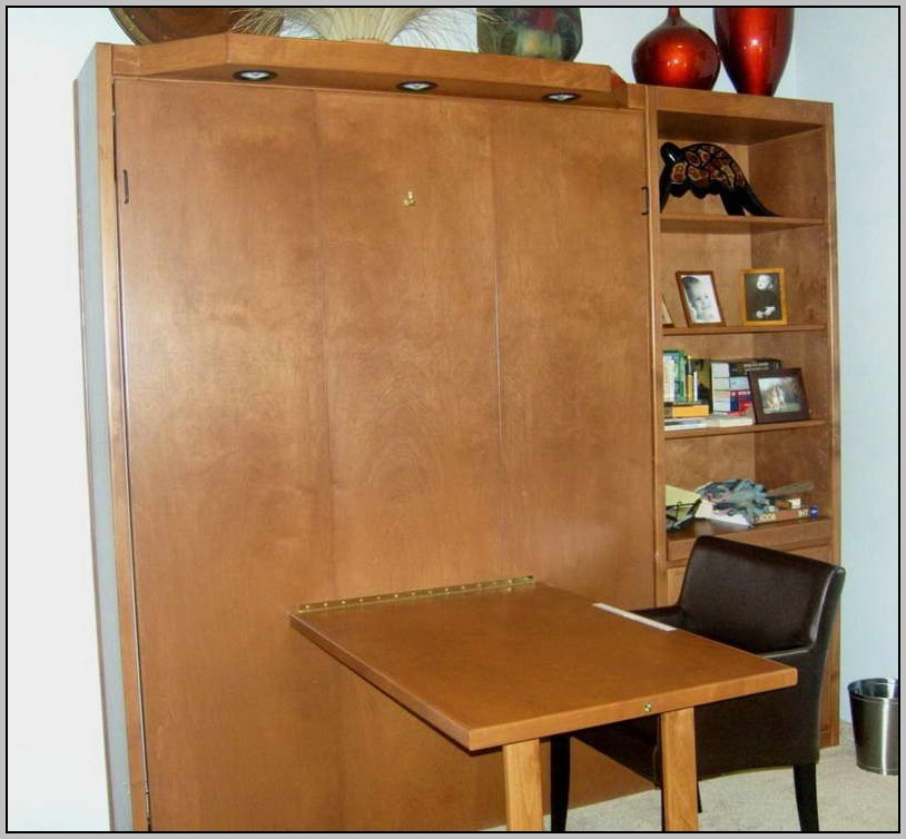 Murphy Bed Desk Modern