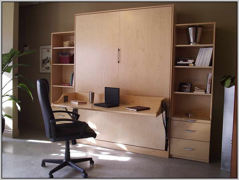 Murphy Bed With Desk Attached