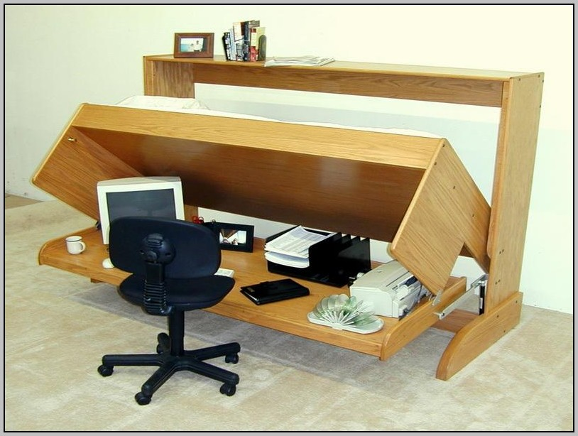 Murphy Bed With Desk Plans