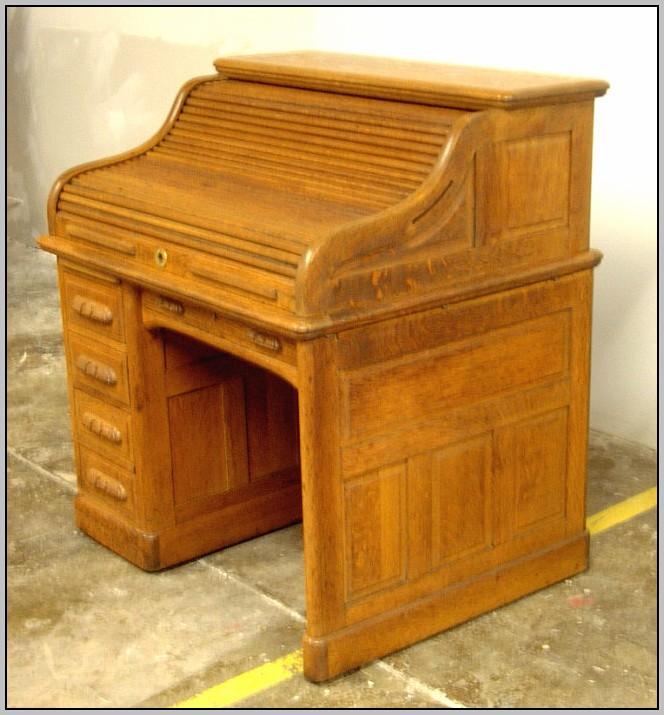 Oak Roll Top Desks For Sale Used