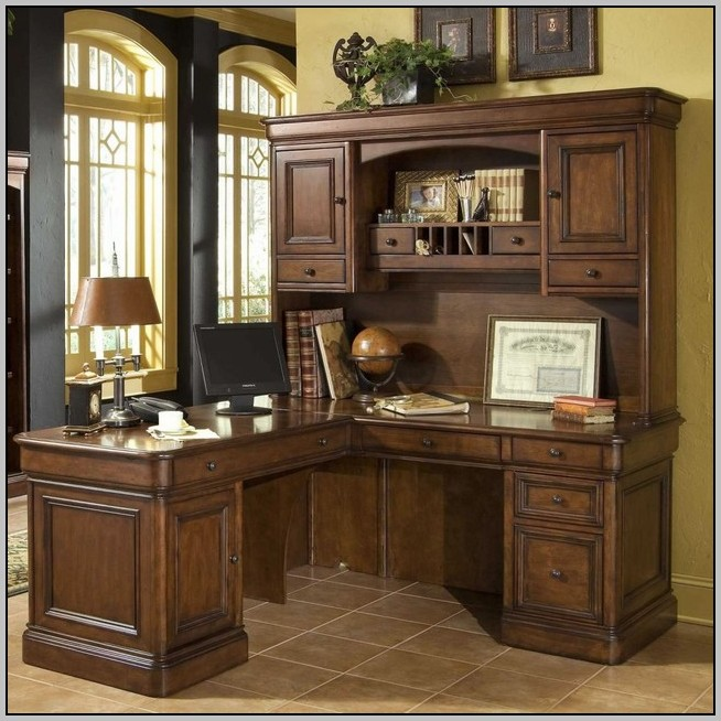 Office Desk With Hutch L Shaped