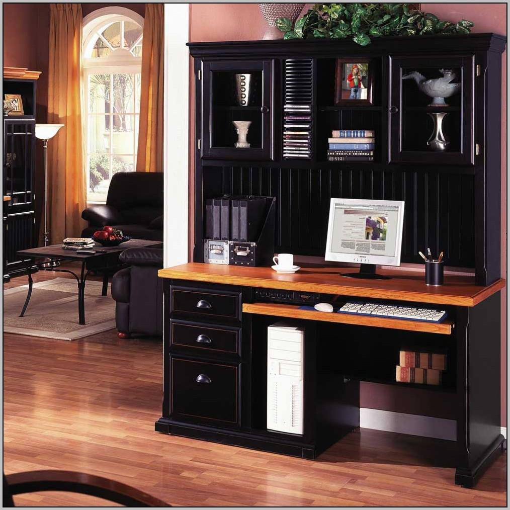 Office Desk With Hutch Storage