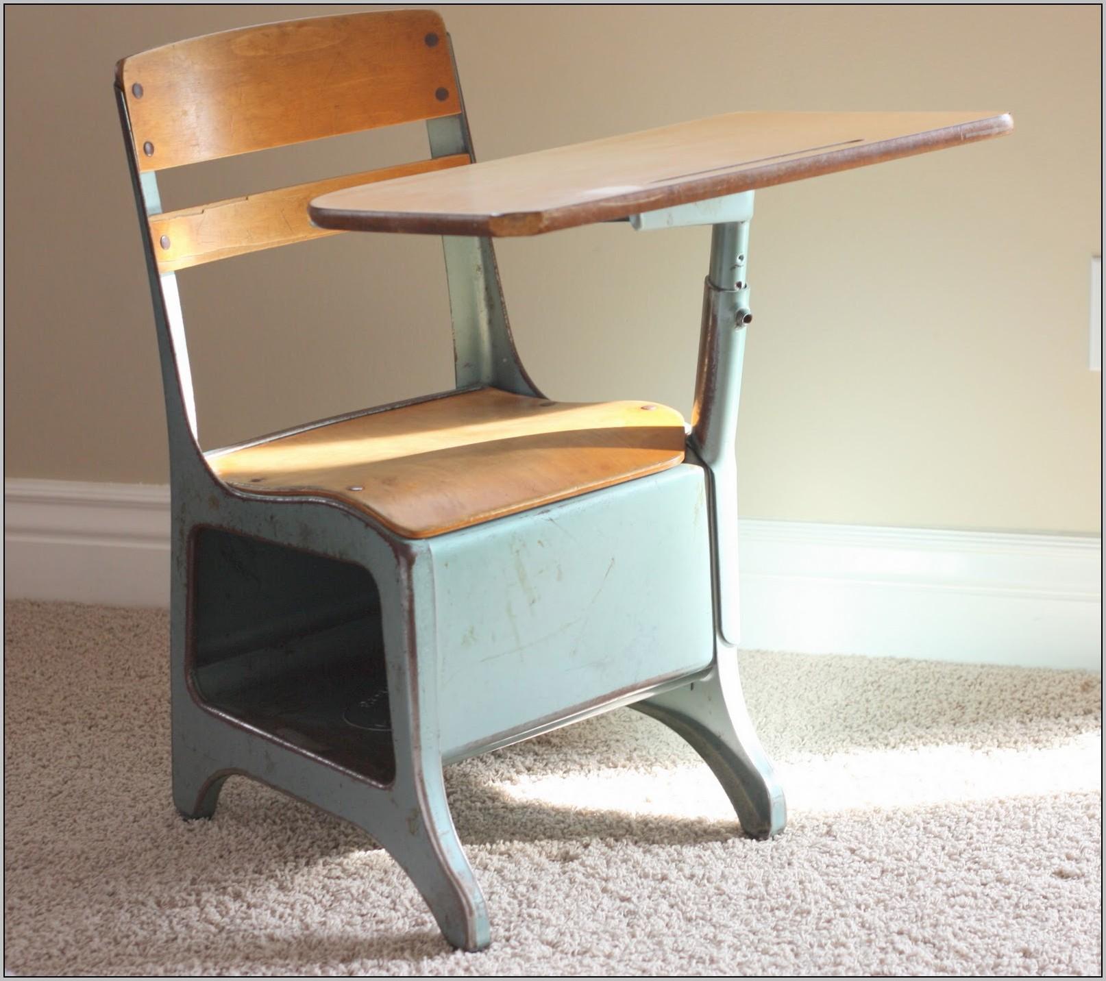 Old School Desks Redone