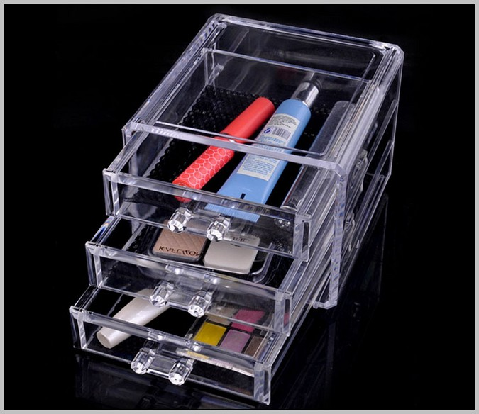 Plastic Desk Organizer With Drawers