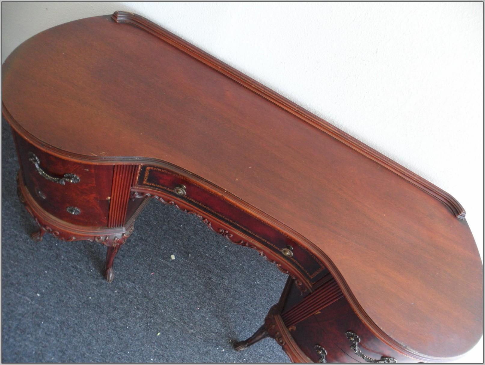 Queen Anne Desk Antique