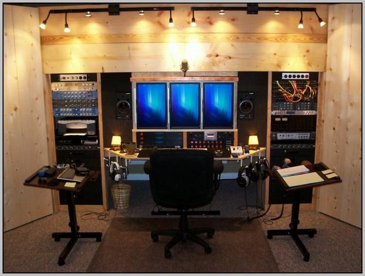 Recording Studio Desk Design