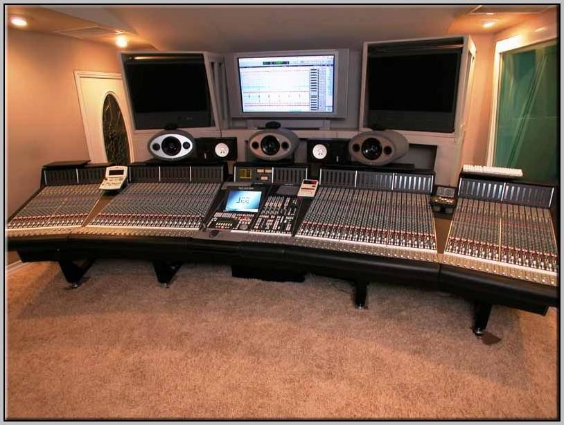 Recording Studio Desk Diy