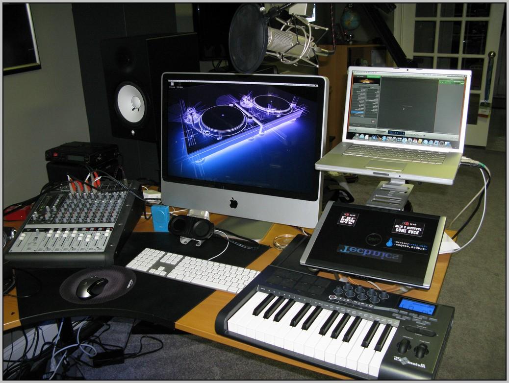 Recording Studio Desktop Computer