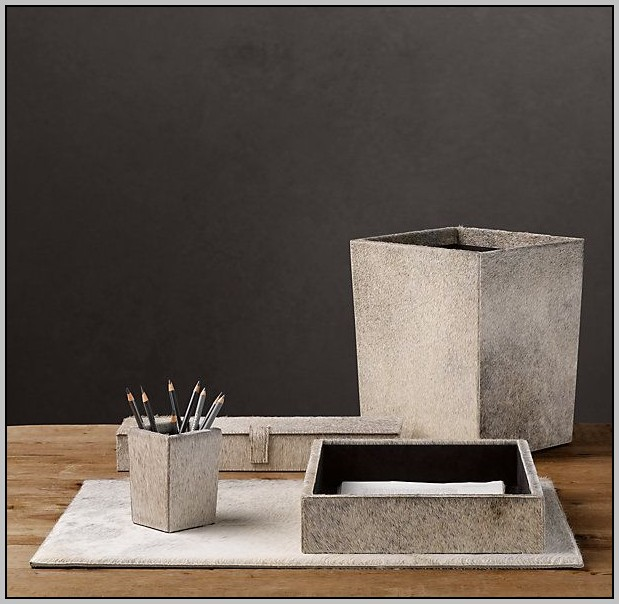 Restoration Hardware Desk Accessories