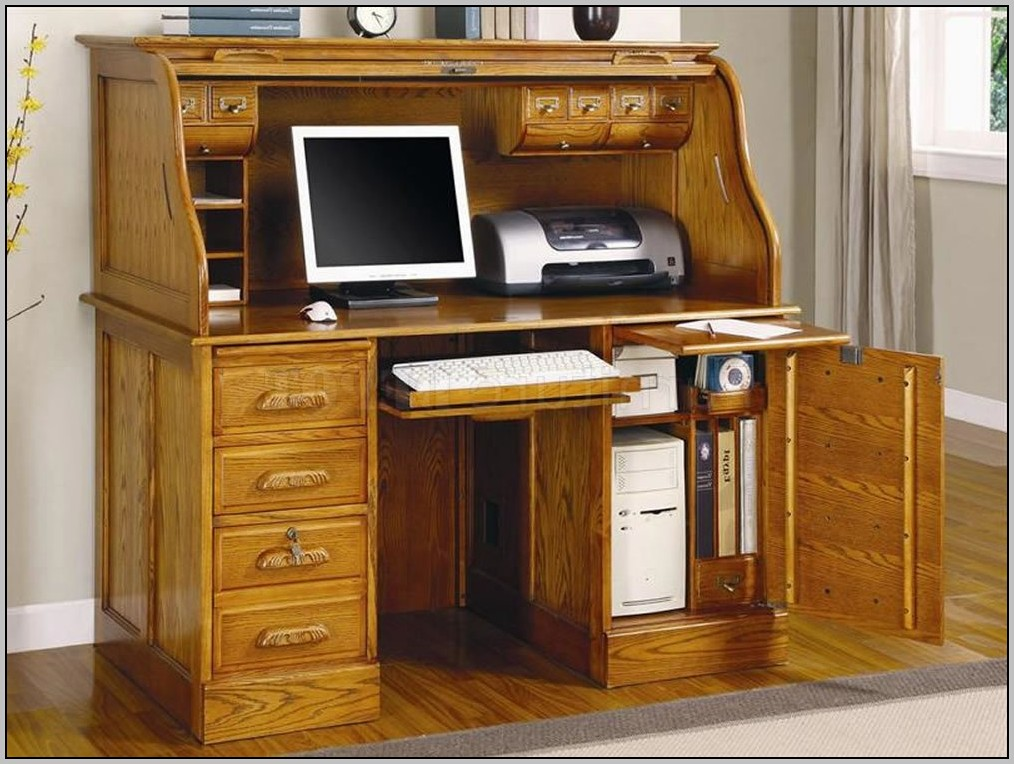 Roll Top Computer Desks For Home