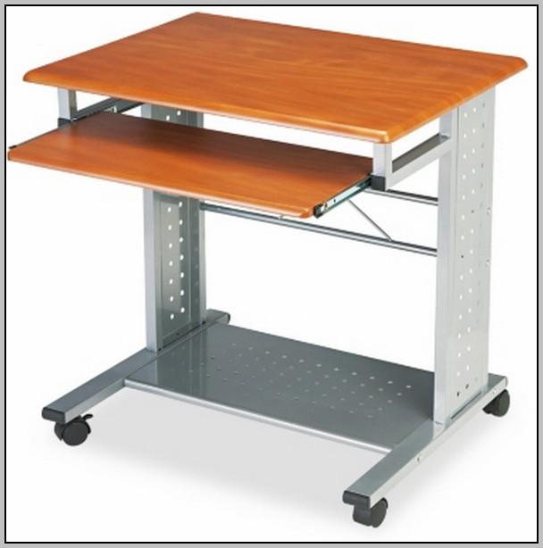 Rolling Laptop Desk Bed