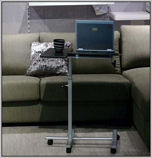 Rolling Laptop Desk Cart