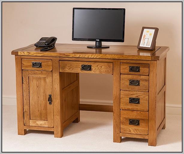 Rustic Pine Computer Desk